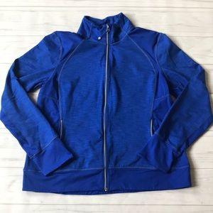 Tangerine women's XL full zip lightweight jacket